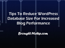 Reduce-database-size